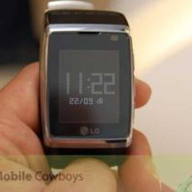 250 LG Watch Phone's vanaf November in sommige winkels