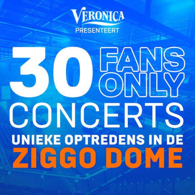 Vanaf 6 juni kun je in de Ziggo Dome naar een concert voor 30 fans