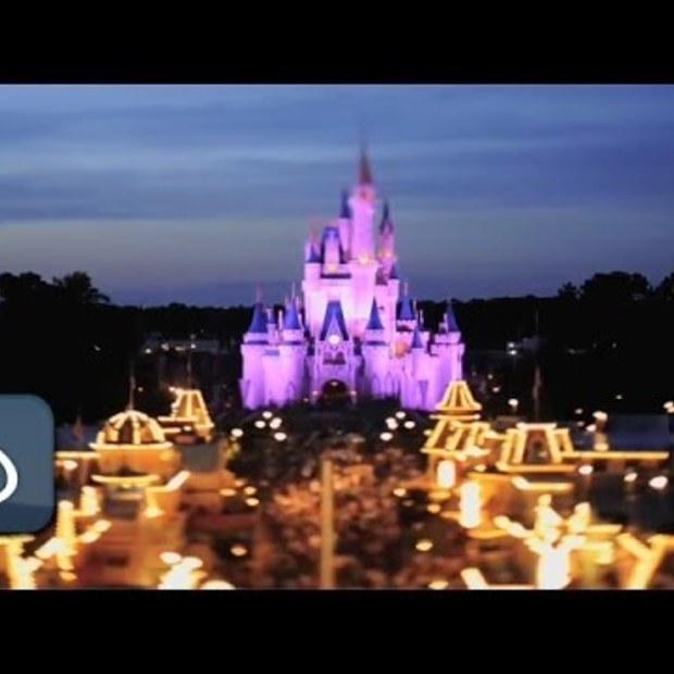 Tilt-Shift filmpje Dagje Disneyland