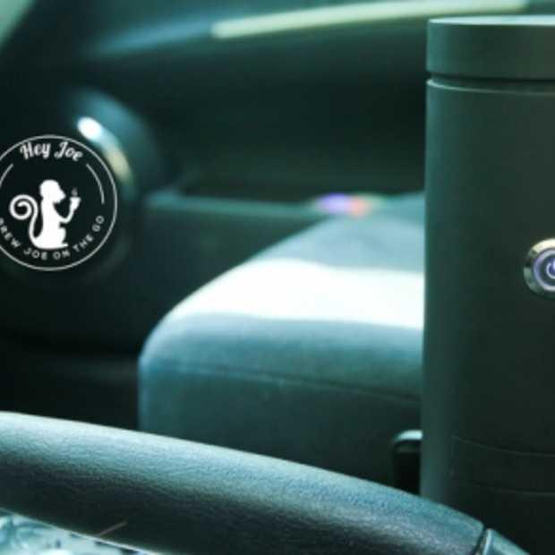 Altijd verse koffie on the road dankzij de Hey Joe Coffee Mug