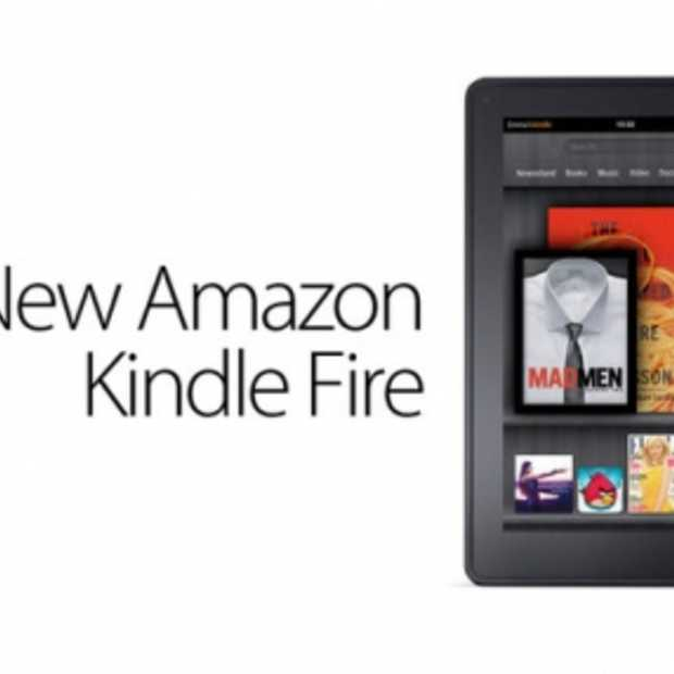Amazon presenteert Kindle Fire als iPad concurrent