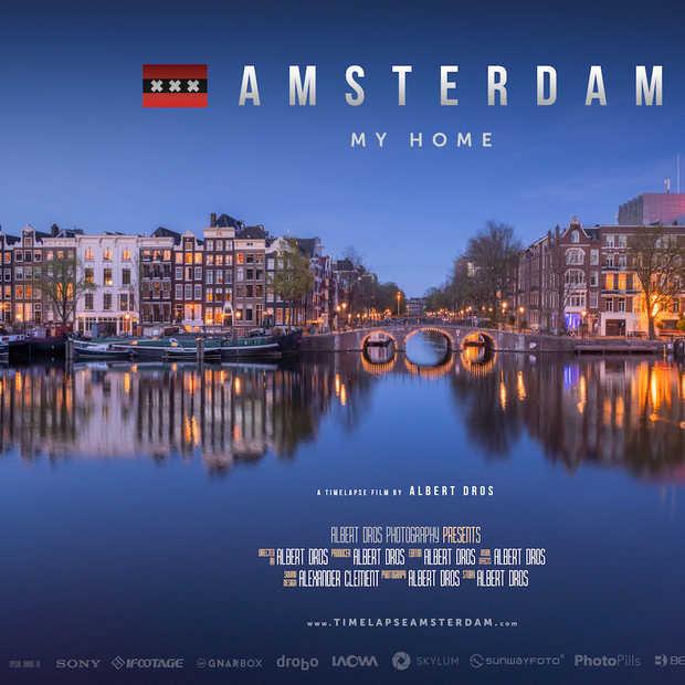 Amsterdam op z'n mooist: een 4K timelapse-film