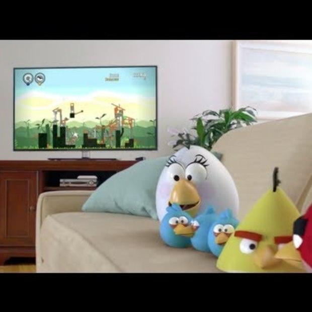 Angry Birds Trilogy nu ook voor de spelcomputers!