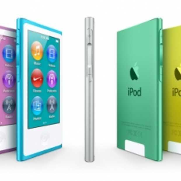 Apple introduceert nieuwe iPod nano