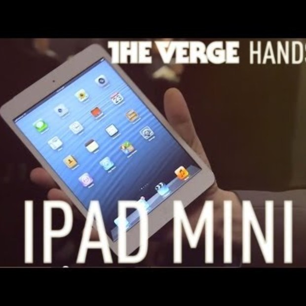 Apple iPad Mini korte demo van The Verge