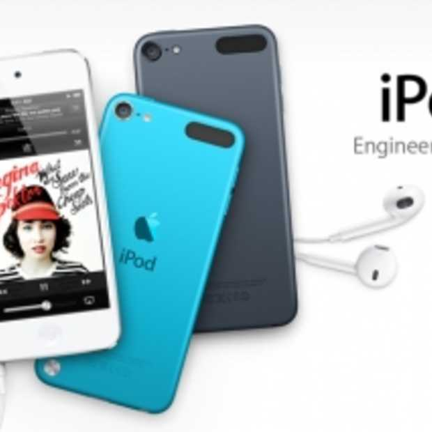 Apple toont nieuwe iPod Touch