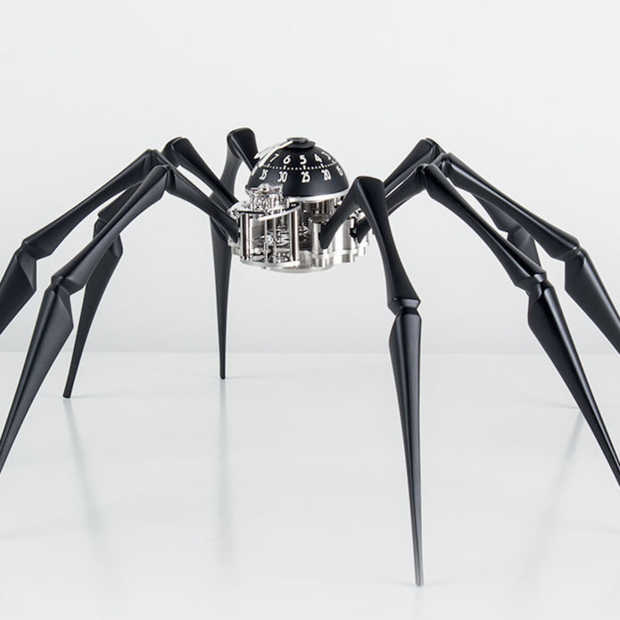 Een klok op acht poten: de Arachnophobia