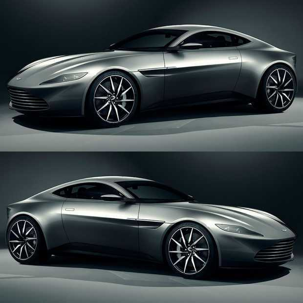 Zo dichtbij hebben we de Aston Martin DB10 nog nooit gezien!