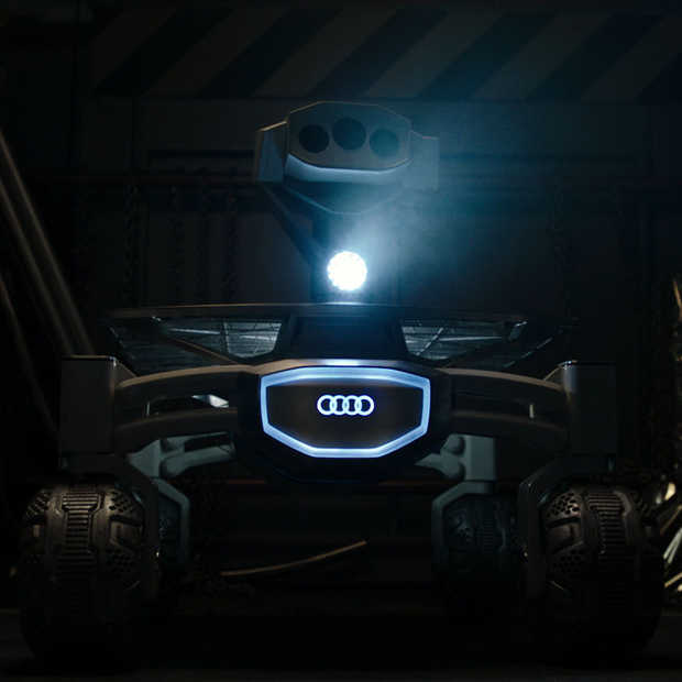 Audi lunar quattro te zien in Alien: Covenant
