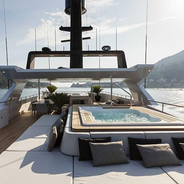Droomboot: prachtig jacht 'Unicorn' van Baglietto