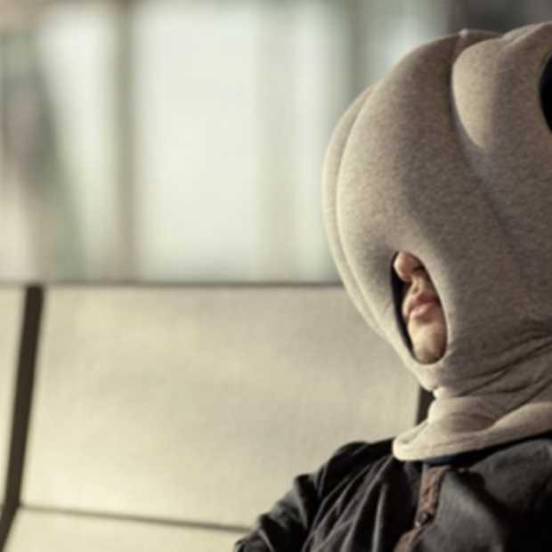 Bijzonder slapen met de Ostrich Pillow