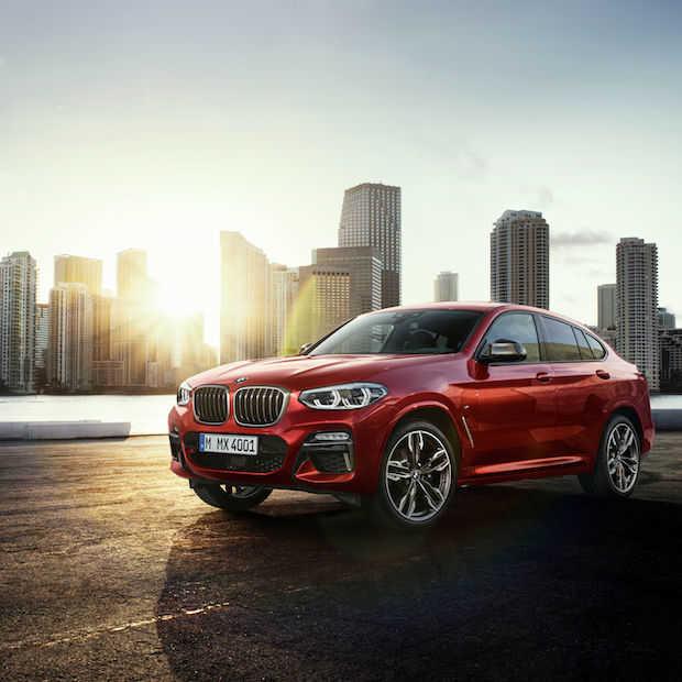 De eerste foto's van de nieuwe BMW X4
