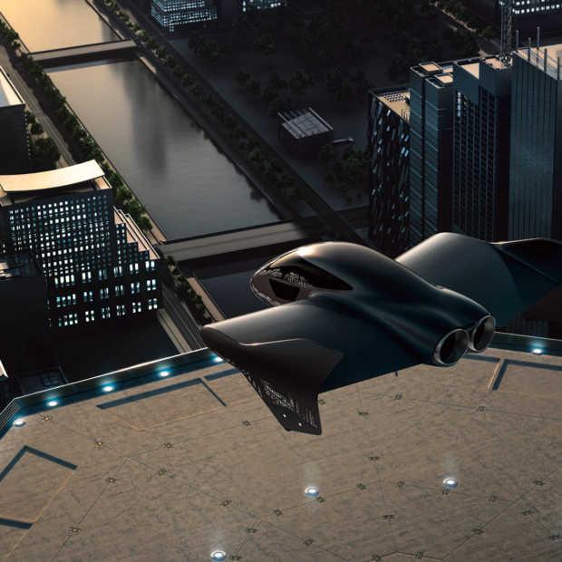 Boeing en Porsche werken aan vliegende auto