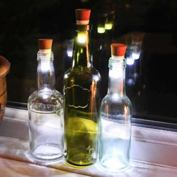 Bottlelight: Sfeervol licht uit een fles!