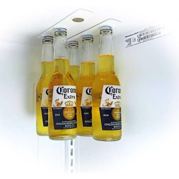 Dankzij de BottleLoft altijd ruimte in je koelkast
