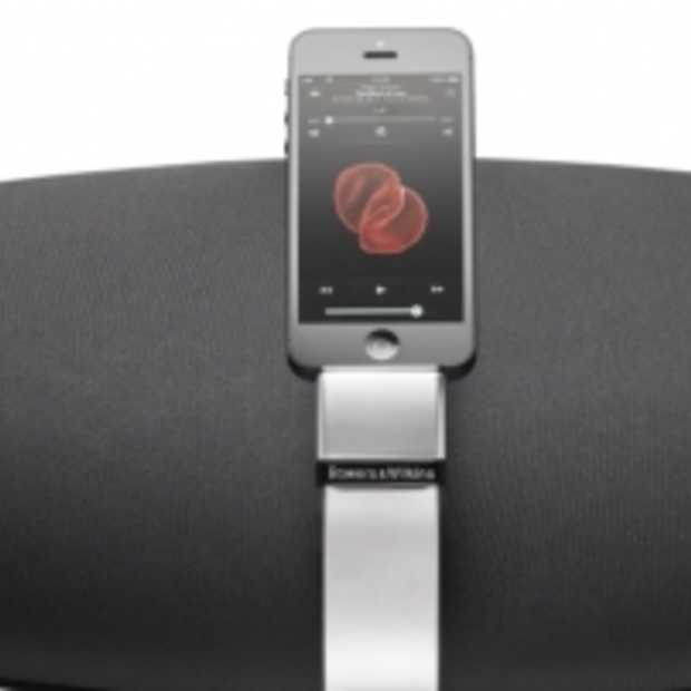 Bowers & Wilkins AirPlay speakers met Lightning connector voor iPhone 5
