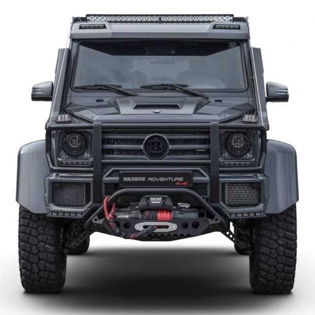 De Brabus Adventure 4x4²: het ultieme custom offroad-monster?