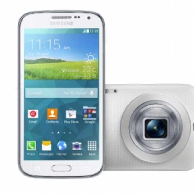 Breng jezelf in beeld met de Samsung GALAXY K zoom