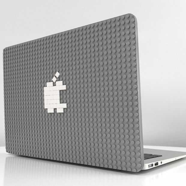 Deze MacBook case kun je personaliseren met LEGO