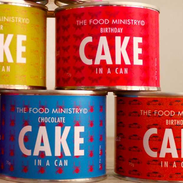 Cake in a can!