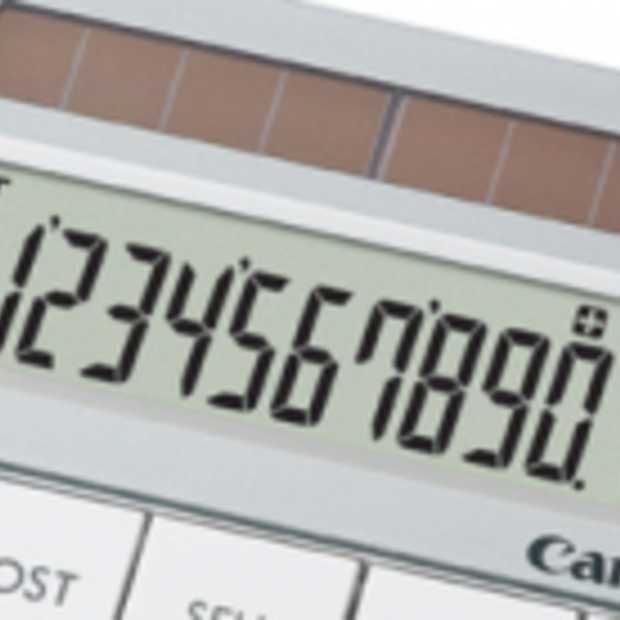 Canon Calculator X Mark I van Gerecycelde Lenzen