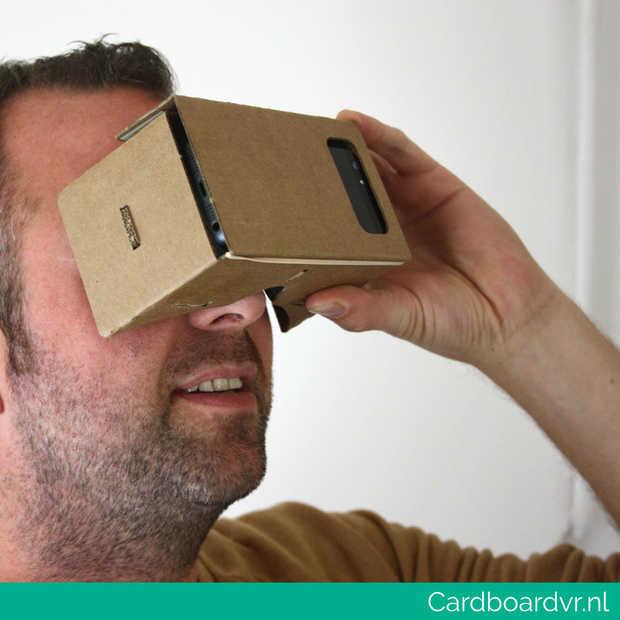 Maak kans op 5x een Google Cardboard VR bril