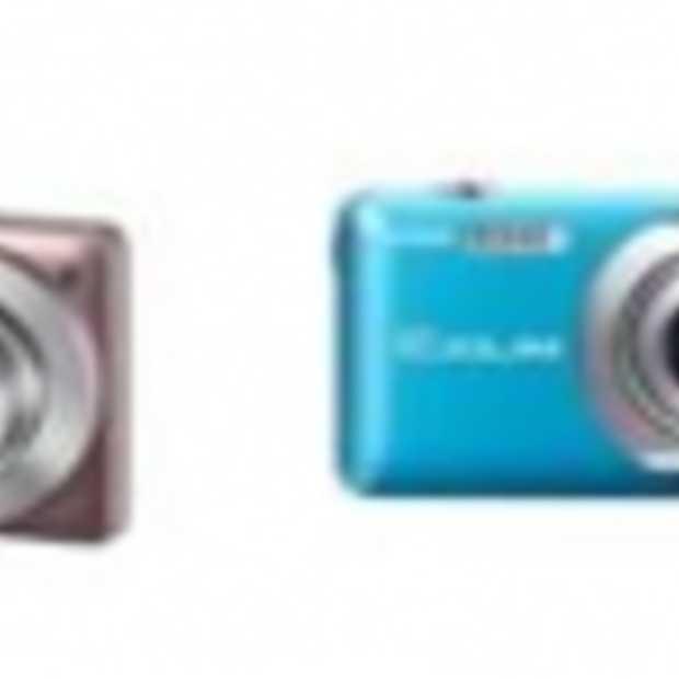 Casio introduceert kleurrijke EXILIM-camera's
