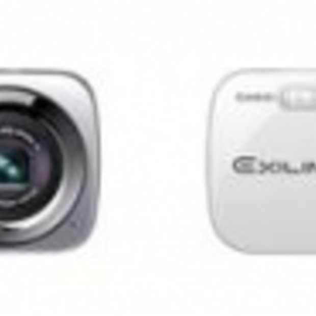 Casio lanceert nieuwe EXILIM-camera's