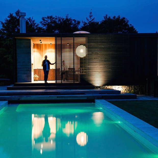 In dit huis midden in de natuur van Nieuw-Zeeland wil jij wel overnachten!