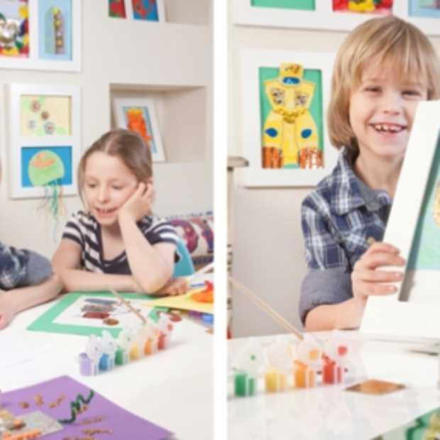 Creeer je eigen kinderkunstgalerij