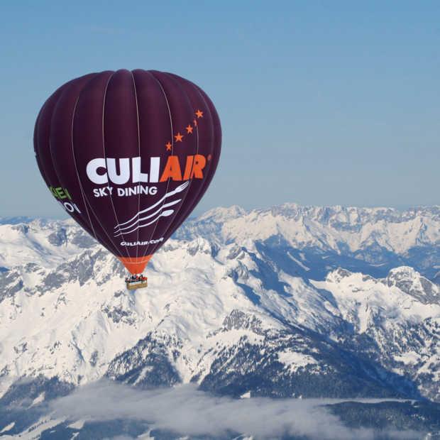 Gaaf: dineren in het luchtballonrestaurant