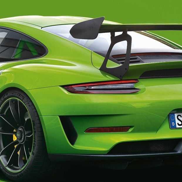 De Porsche 911 GT3 RS is vooral heel groen