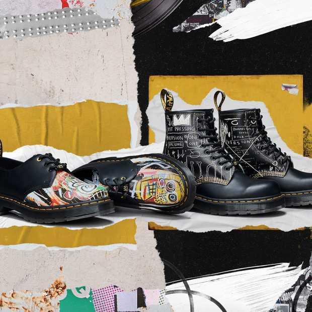 Cool: de iconische Dr. Martens zijn er nu met artwork van kunstenaar Basquiat