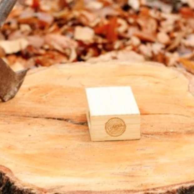 Draadloos geluid uit hout