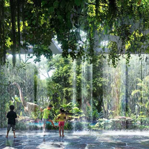 Dubai krijgt een hotel met een indoor regenwoud