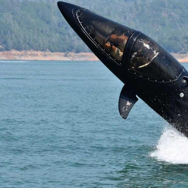 Origineel waterspeeltje: je eigen onderzeeër!