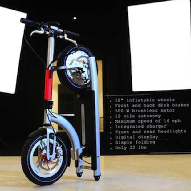ElectricMood: de 'vouwfiets' onder de scooters?