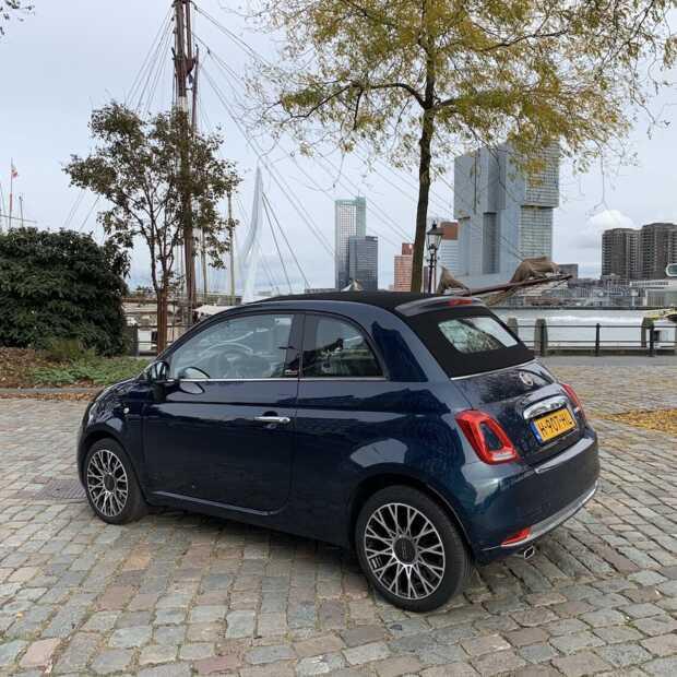 De Fiat 500 Cabrio Hybrid maakt rijden in de stad weer leuk