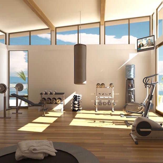 Zo maak je je eigen fitnessruimte thuis