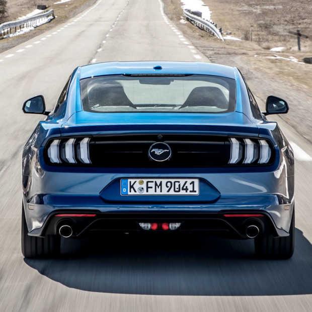 De nieuwe Ford Mustang: schaamteloos en zonder enige concessie