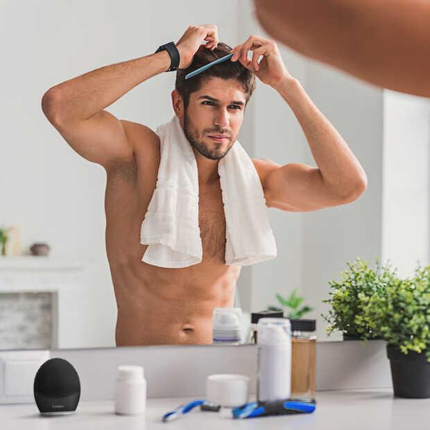 De FOREO LUNA 3 voor mannen en vrouwen reinigt en masseert je gezicht in 1 minuut