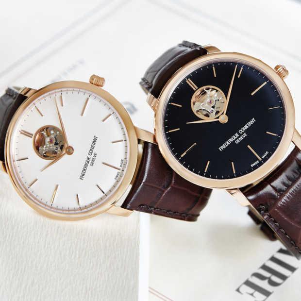 Drie stijlvolle nieuwe horloges van Frédérique Constant