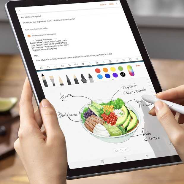 Samsung lanceert nieuwe Android-tablet, de Galaxy Tab S4