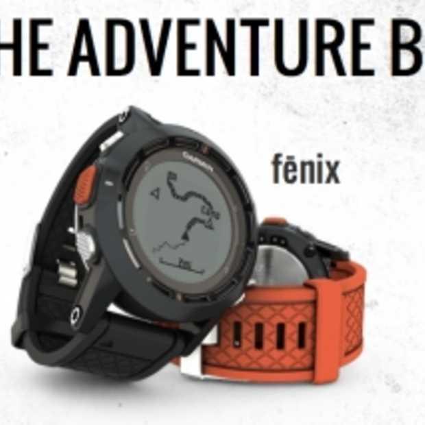 Garmin Fënix outdoor GPS horloge voor alpinisten