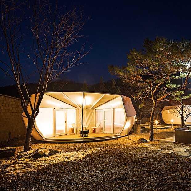 Is dit de coolste glamping tent ooit?