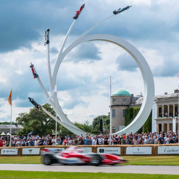 Goodwood Festival of Speed is hét auto-Walhalla van Engeland