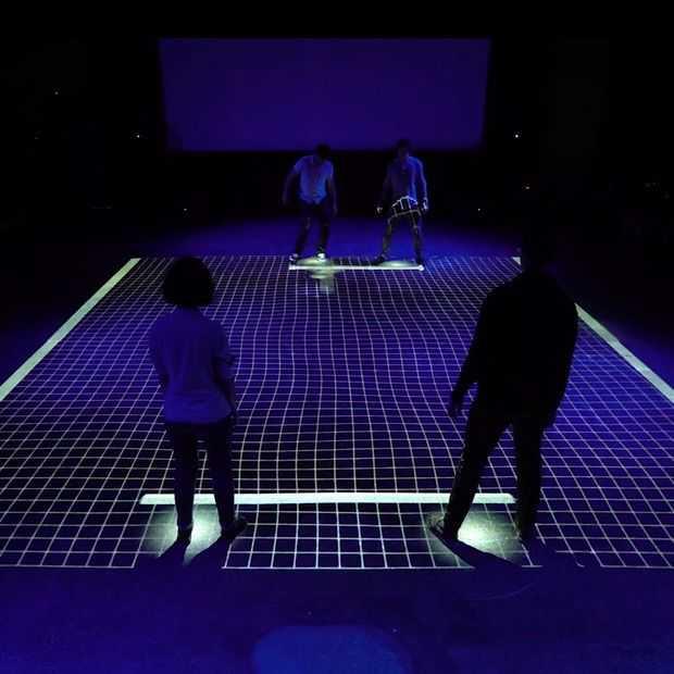 GRiD: Speel Pong met je lichaam als racket