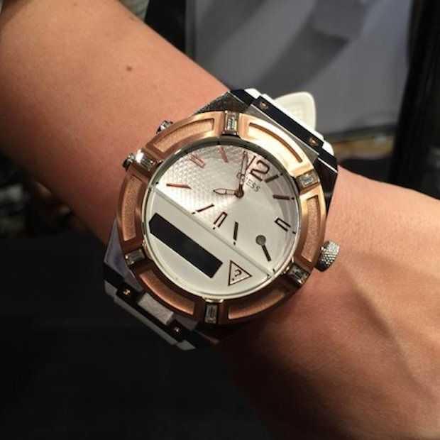 Guess komt ook met smartwatch!