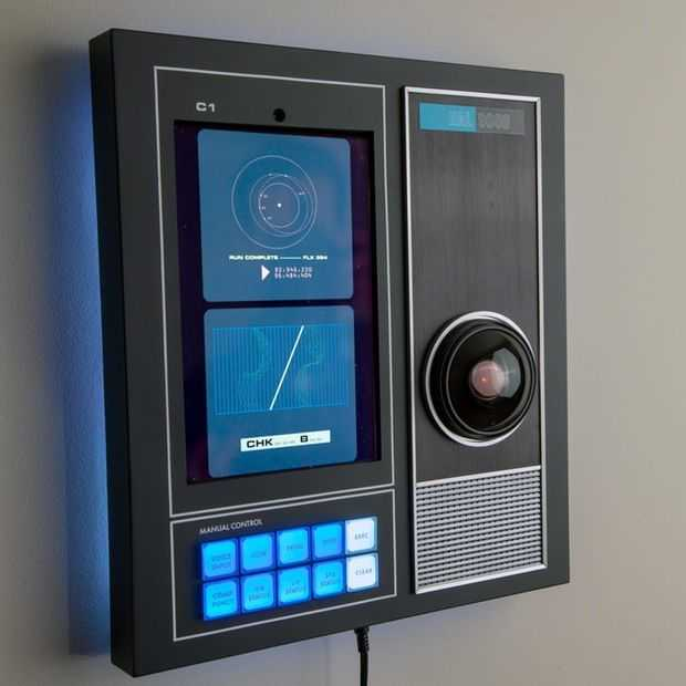 Deze 1:1 replica HAL 9000 bluetooth speaker is helemaal af