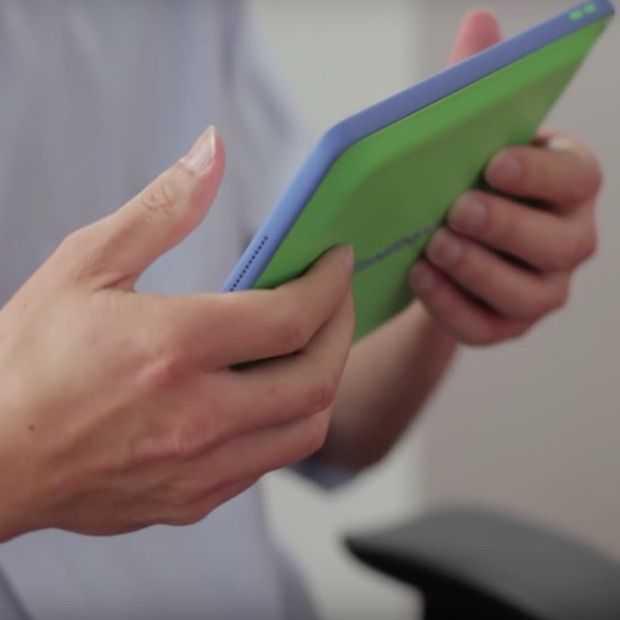 Met de HandyCase verander je de achterkant van je tablet in een touchscreen!